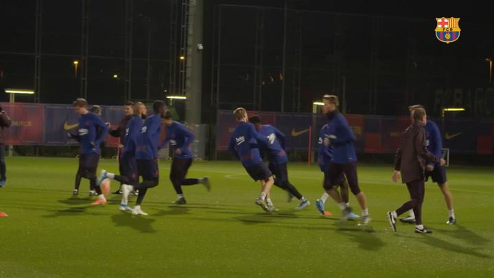 Vuelta a los entrenamientos con el retorno de Arturo Vidal