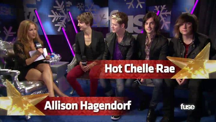 Jingle Ball: Hot Chelle Rae's Excited to Make MSG Debut at Jingle Ball 2011 - Fuse Presents Z100's Jingle Ball 2011