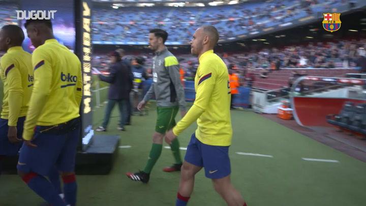 Behind The Scenes: Martin Braithwaite's debut at Camp Nou