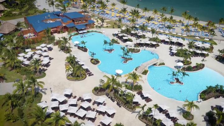 Harvest Caye Cruise Port Video Tour