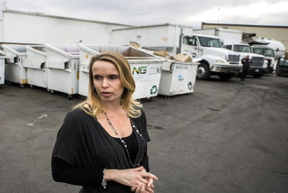 Waste management company files for bankruptcy
