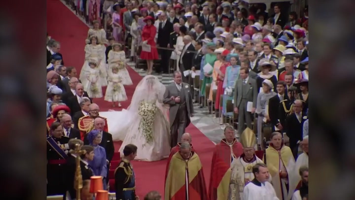 Footage of Charles and Diana's wedding restored in new never-before-seen documentary