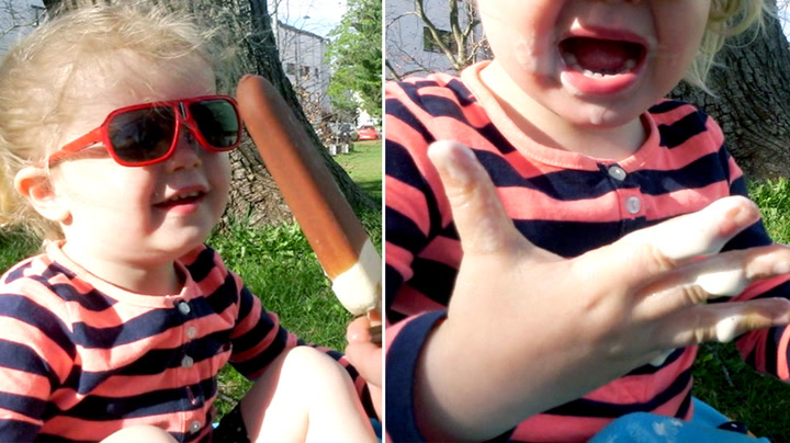 Trikset mot is-gris på barnefingre