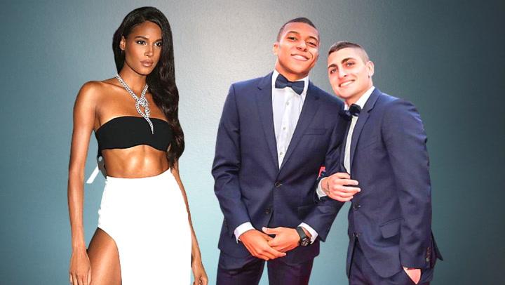 Los jugadores del PSG, de fiesta por el cumpleaños de la supermodelo Cindy Bruna