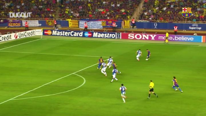 أفضل تمريرات ليونيل ميسي الحاسمة في دوري أبطال أوروبا