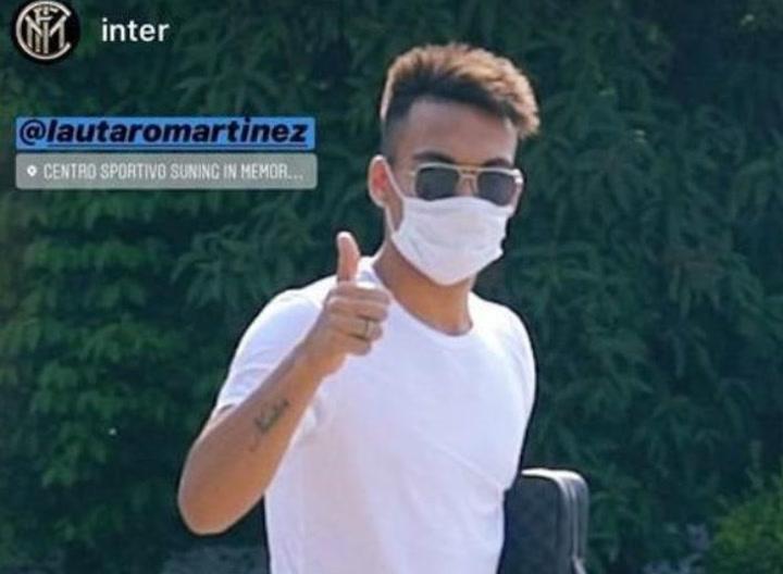 El Inter de Lautaro regresa a los entrenamientos