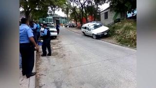 Acribillan a taxista en la colonia Centroamérica Oeste de la capital