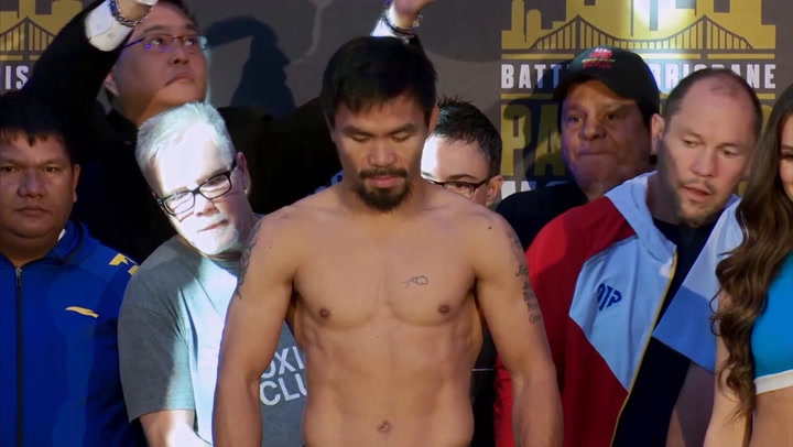 Manny Pacquiao, Jeff Horn