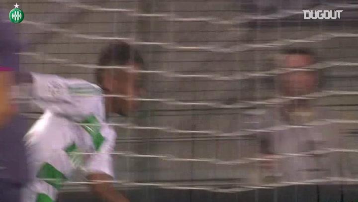 All Aubameyang's goals vs Rennes