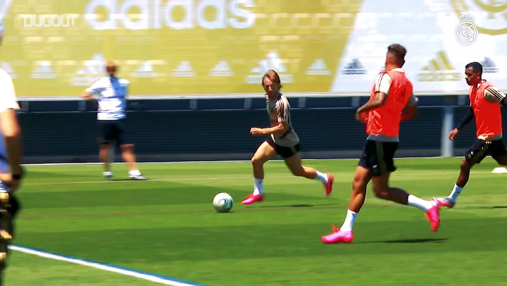 Real Madrid begin Mallorca preparations
