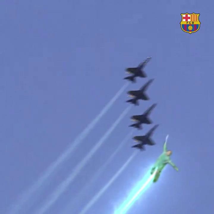 El Barça hace 'volar' a Ter Stegen por todo el mundo