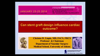 Can stent graft design influence cardiac outcome?