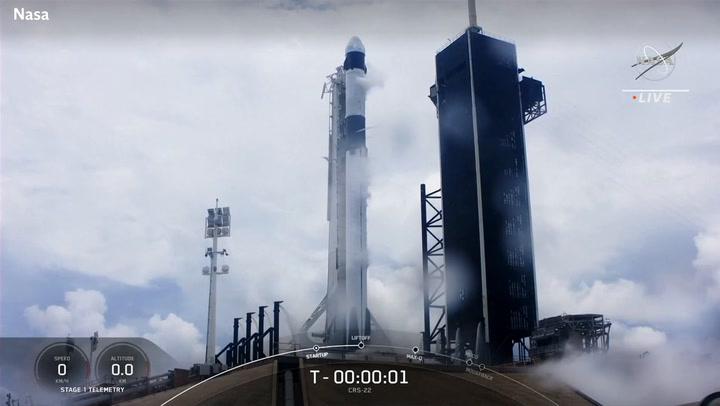 SpaceX launches 22nd resupply mission to ISS