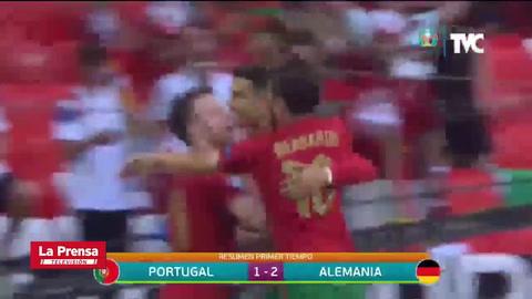 Contragolpe letal y cerca de impresionante récord: El gol de Cristiano Ronaldo a Alemania