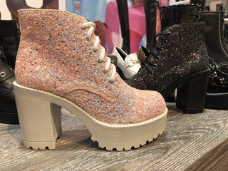 Roc Boots Make For Glittery Festival Wear