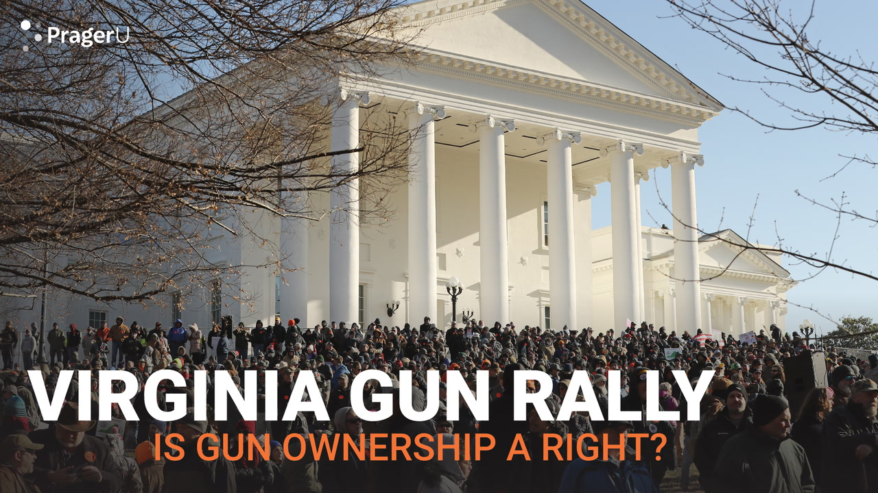 Virginia Gun Rally: Is Gun Ownership a Right?