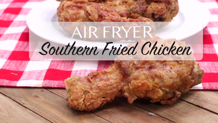 Air Fryer Southern Style Fried Chicken