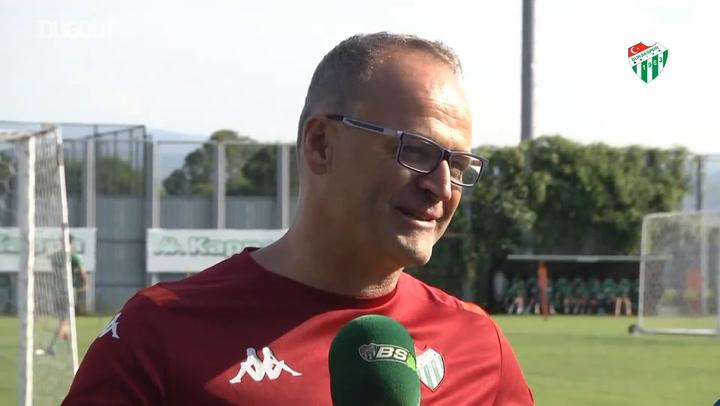 Bursaspor Teknik Direktörü İrfan Buz'un İlk Röportajı