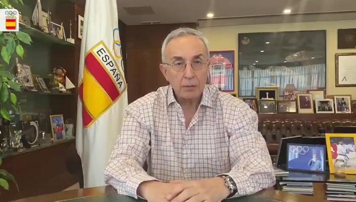 Alejandro Blanco celebra que los deportistas españoles den un paso más en su preparación