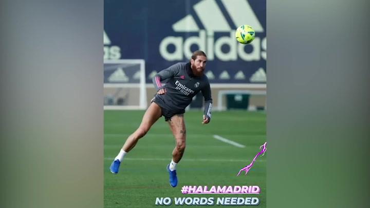 El mensaje de Sergio Ramos antes del Clásico