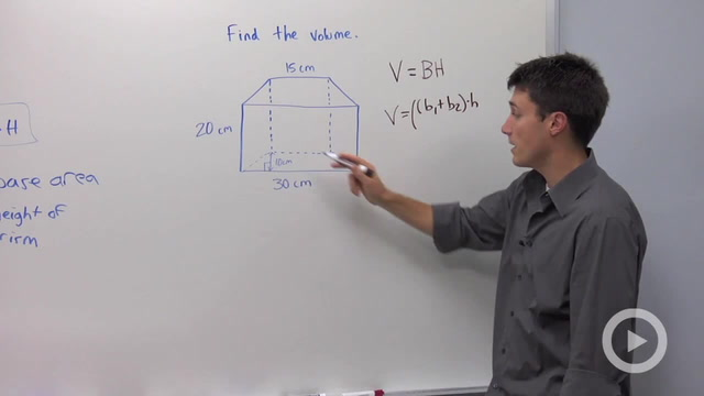 Volume of Prisms - Problem 1
