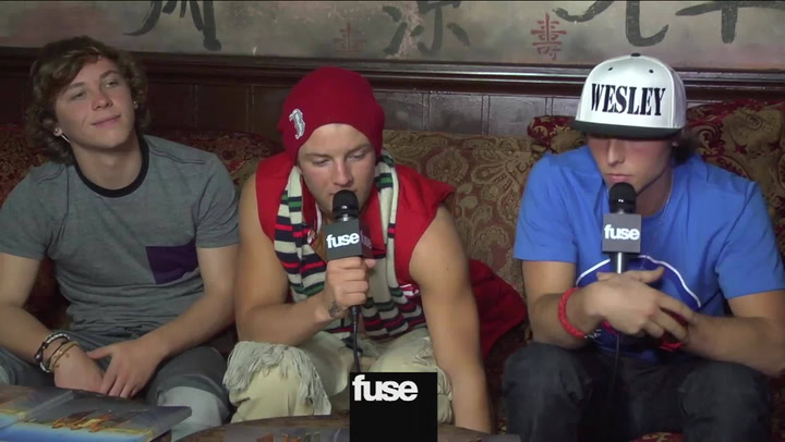 "Interviews:  X Factor' Band Emblem3 Label Benji & Joel Madden Collab ""Sickest Thing Ever"""