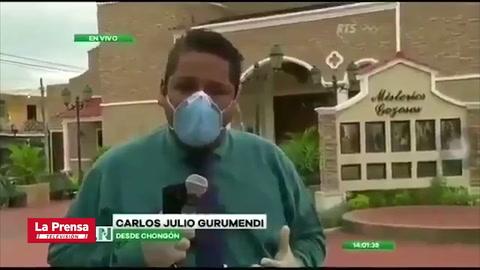 Periodista rompe en llanto por la crisis del COVID-19 en Ecuador