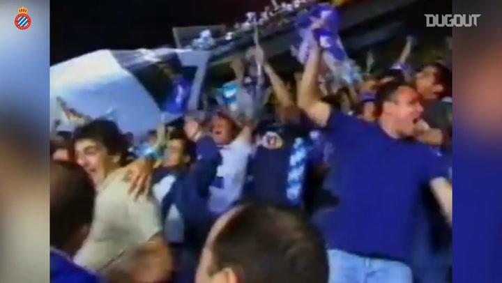 Sergio González's impressive strike in the 2000 Copa del Rey Final