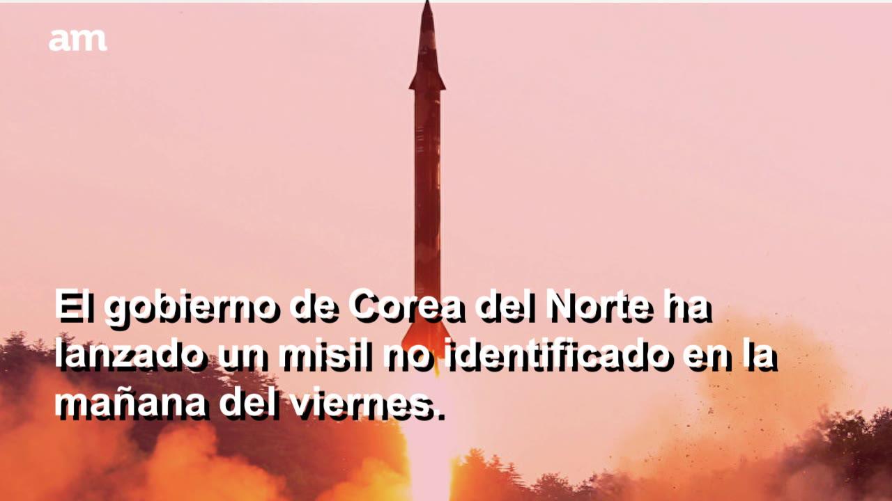 Lo volvió a hacer, Corea del Norte lanza misil