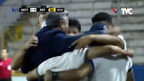 Gol de Matías Galvaliz al Real España (Liga Salvavida)