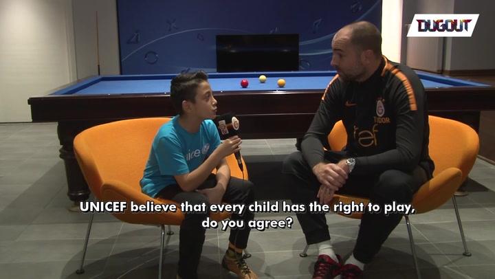 Unicef World Children's Day at Gala