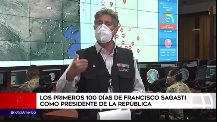 Los primeros 100 días de Francisco Sagasti como presidente de la República
