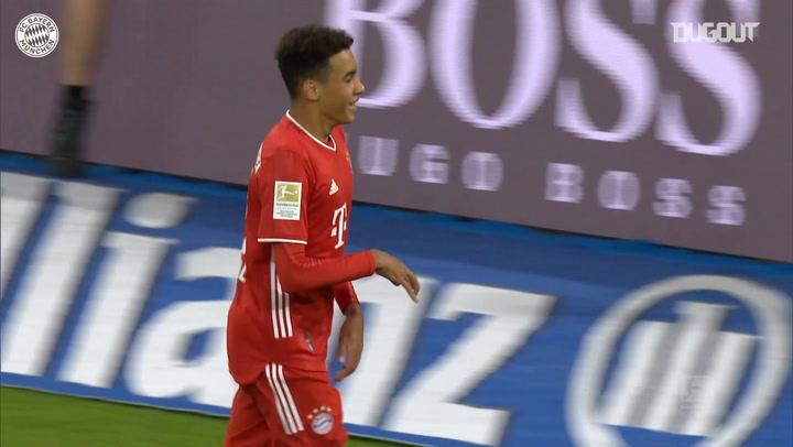 Jamal Musiala's impressive start at FC Bayern