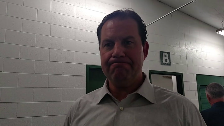 UND head coach Brad Berry talks about Friday's victory over Michigan St.
