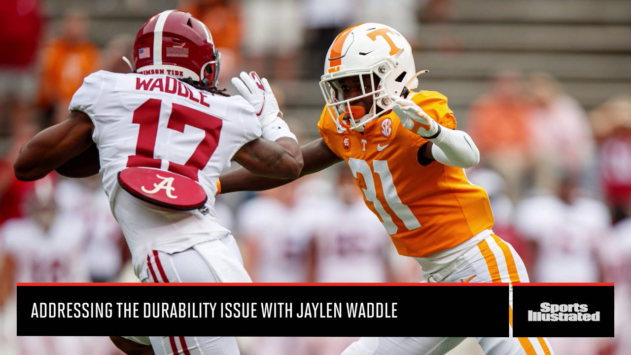 Jaylen Waddle and the Durability Issue