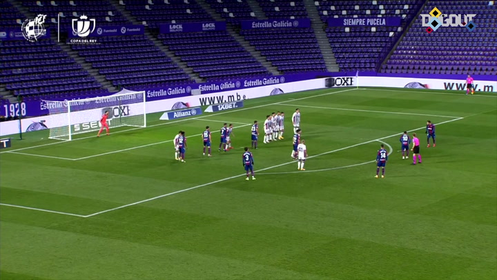Bardhi's under the wall free-kick goal in the Copa del Rey