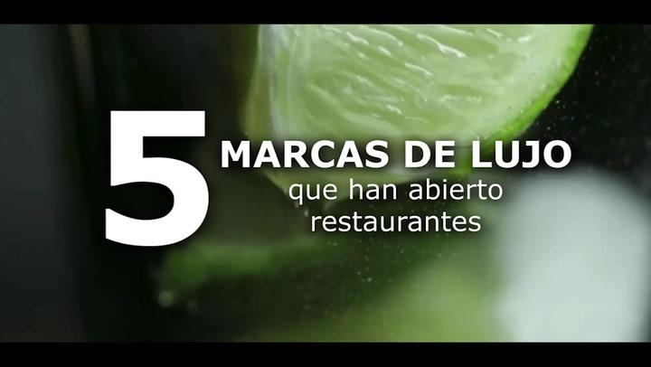 5 marcas de lujo que han abierto restaurantes
