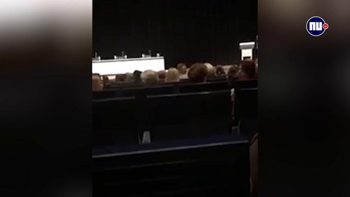 Boze ouders bij bijeenkomst VMBO Maastricht