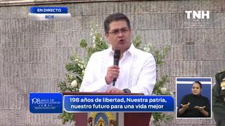 Mensaje del mandatario hondureño por el 198 aniversario patrio