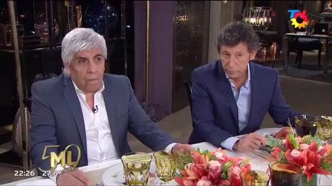 El tenso momento de Moyano en la mesa de Mirtha