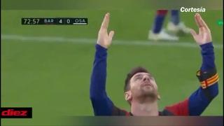 Un gol calcadito: Messi emuló ante Osasuna golazo de Maradona con el Newells
