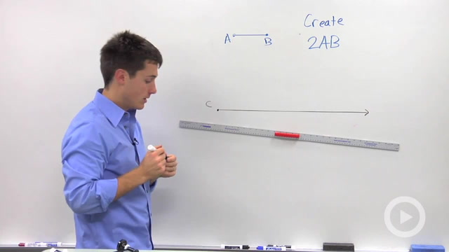 Duplicating a Line Segment - Problem 1