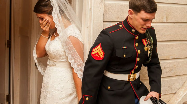 Historien bak brudebildet som går verden rundt