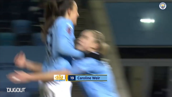 Caroline Weir's incredible chip against Manchester United