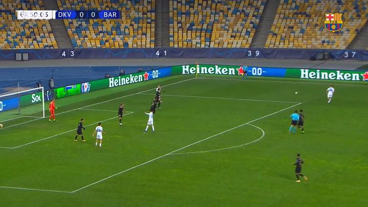 Highlights: Dynamo Kyiv 0-4 FC Barcelona