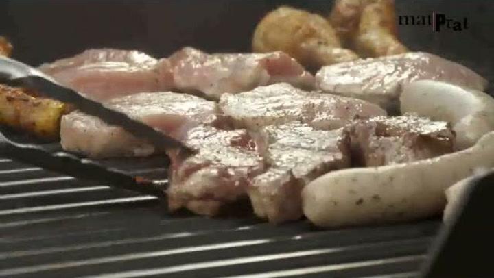 Hvordan grille små kjøttstykker