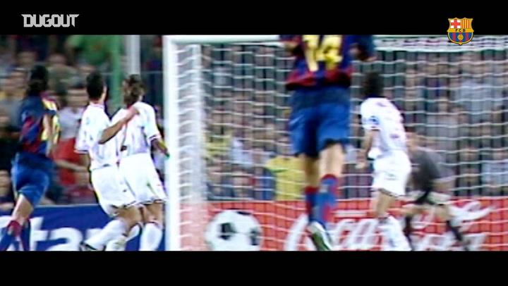 Ronaldinho's best goals for FC Barcelona