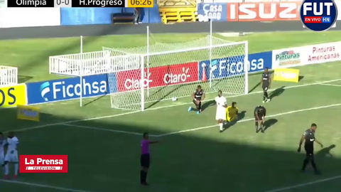 Olimpia 5 - 0 Honduras Progreso (Lga Nacional)