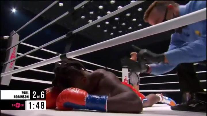 El brutal KO de Jake Paul a Nate Robinson