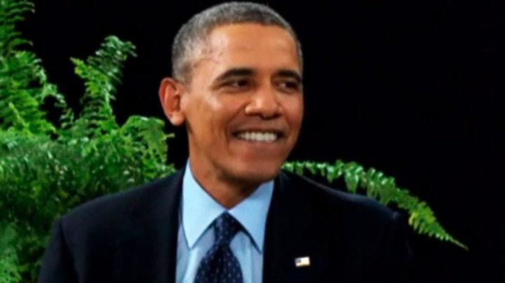 Se det særeste Obama-intervjuet noensinne